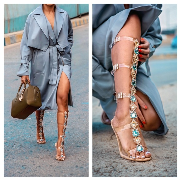 EGO Shoes | Jewel Embellished Perspex
